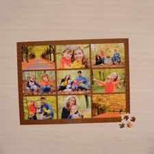 Chocolate Nine Collage 18 X 24 Photo Puzzle