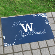 Create Your Own Personalized Welcome Home Door Mat