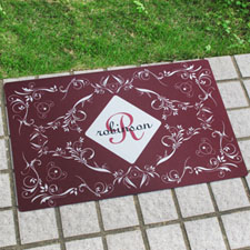 Create Your Own Personalized Initial Door Mat