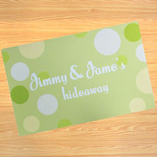 Create Your Own Personalized Kids My Name Door Mat