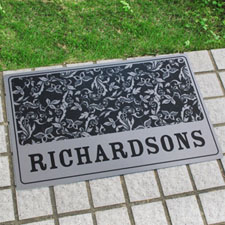 Create Your Own Personalized Name And Initial Door Mat