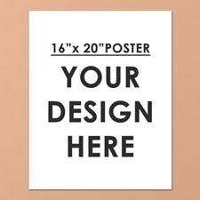 Photo Poster Print Single Image 16X20
