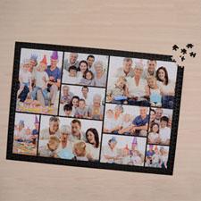 Black Ten Collage 1000 Piece 19.75