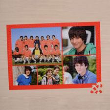 Orange Five Collage 1000 Piece 19.75
