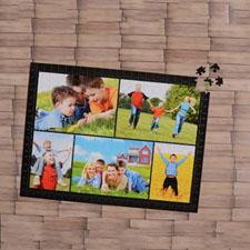 Black Five Collage 1000 Piece 19.75
