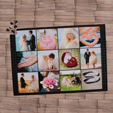 Black Twelve Collage 1000 Piece 19.75