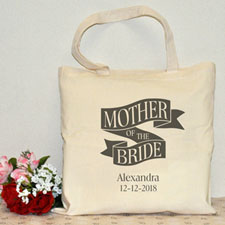 Mother Of The Bride Cotton Tote Bag