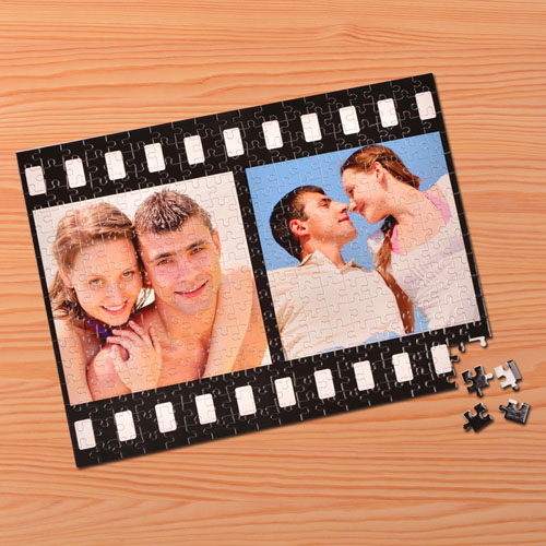 Personalized Memories 12X16.5 Jigsaw Puzzle