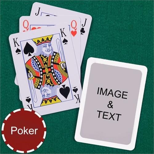 Poker Bridge Style White Border Playing Cards