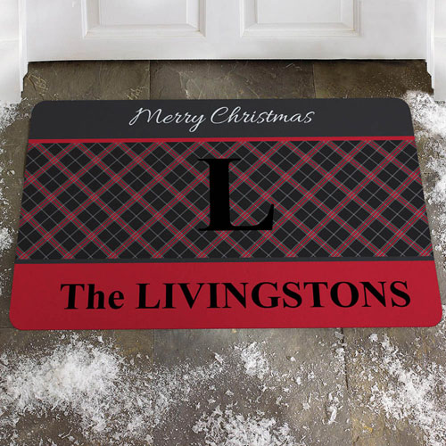 Create Your Own Welcome To Merry Christmas Door Mat
