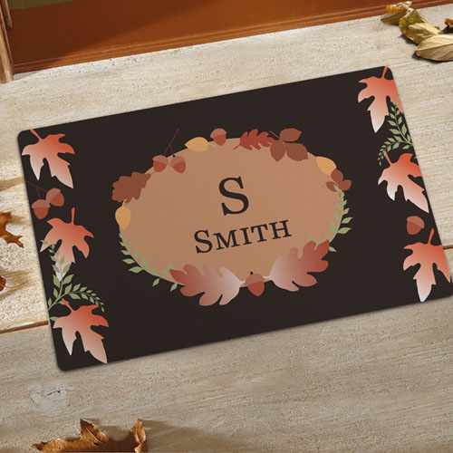 Create Your Own Welcome Fall Door Mat