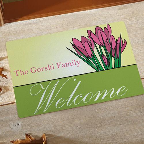 Create Your Own Welcome Spring Door Mat