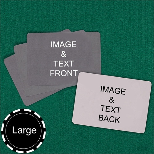 Personalized Large Size Landscape Custom Cards (Blank Cards) Playing Cards