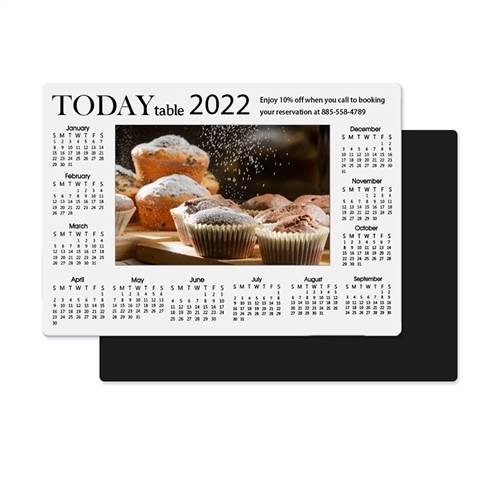 Photo Calendar Magnet 3.5