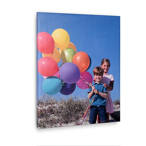 16 x 20 Custom Design Photo Canvas Print